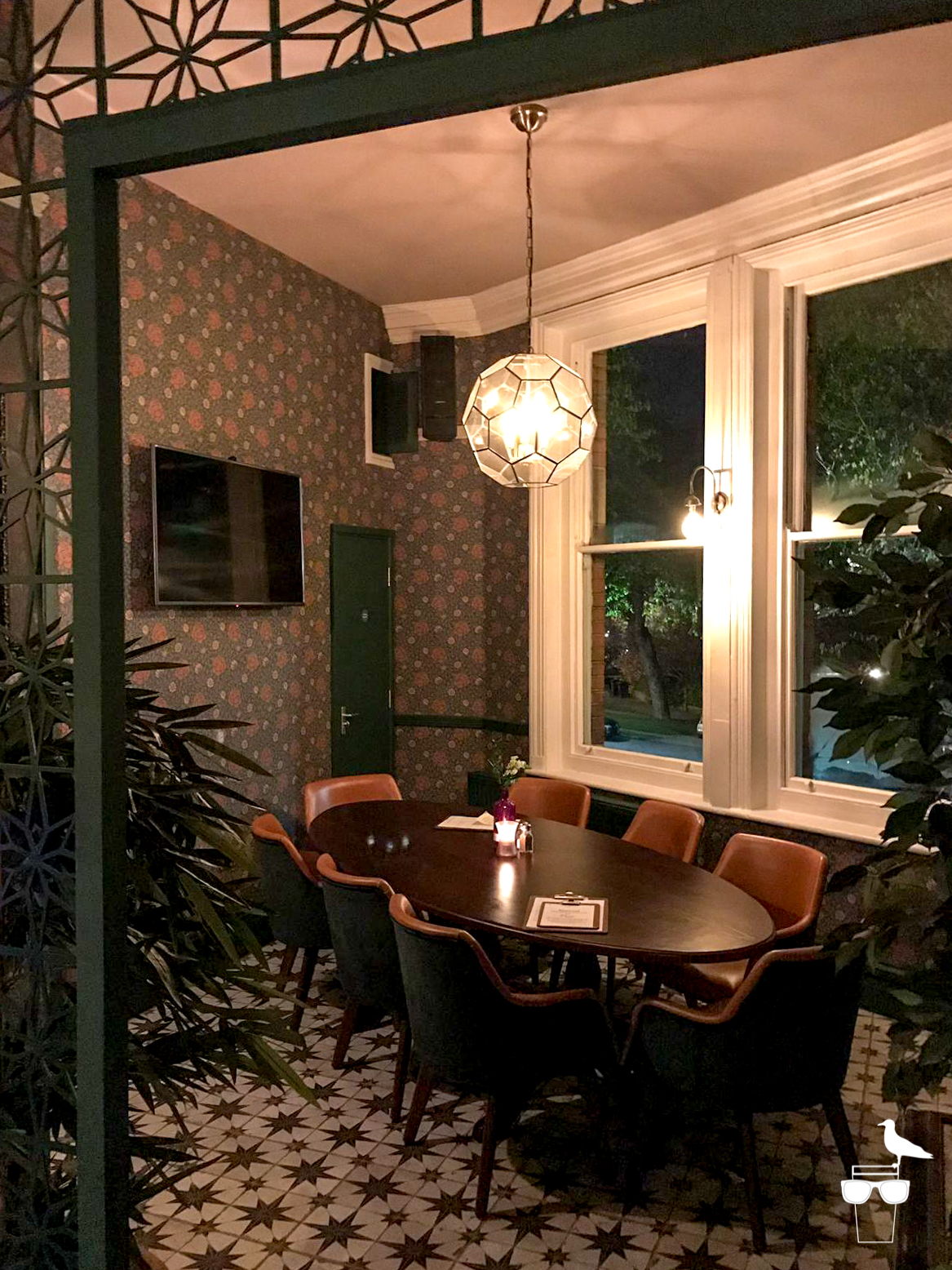 the park view pub preston park brighton private dining area