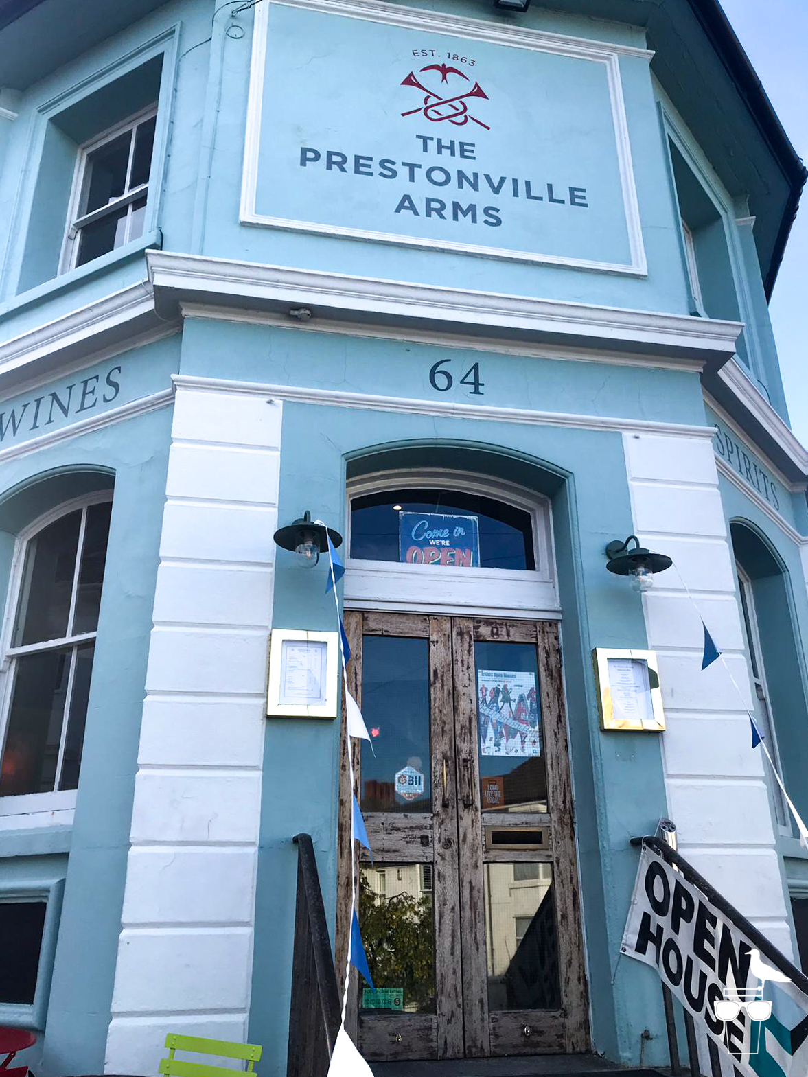 the prestonville arms pub brighton outside entrance