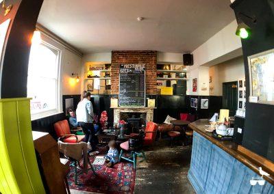 the prestonville arms pub brighton inside seating