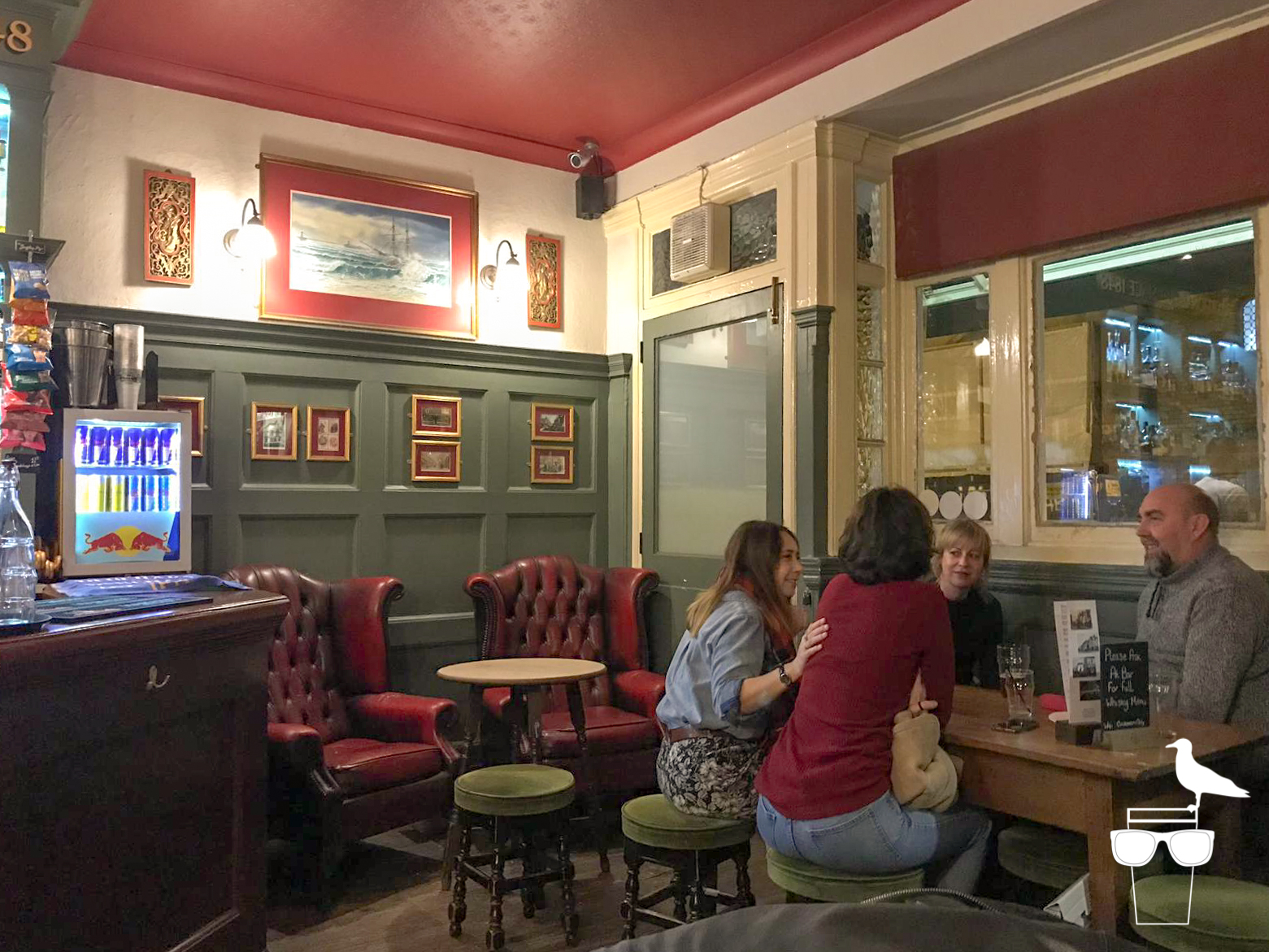 waggon and horses pub brighton armchairs in corner