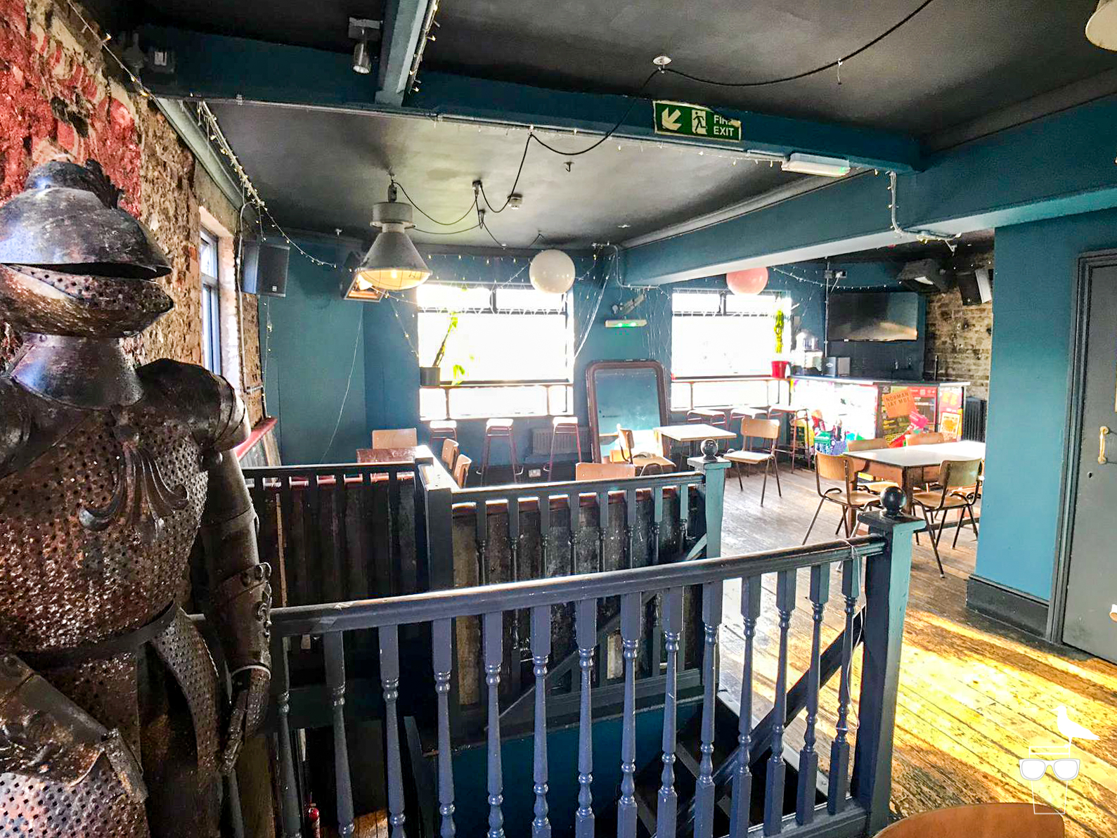 the western pub brighton inside upstairs event space