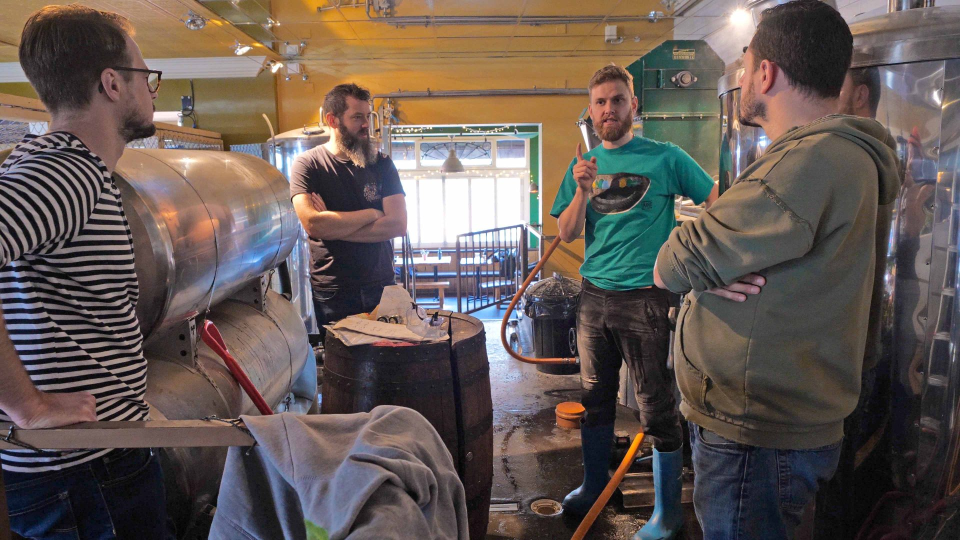 Meet the Brewer of the North Laine Brewhouse