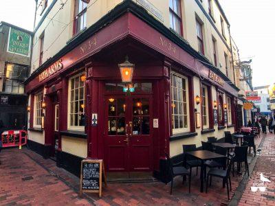 the bath arms pub south lanes brighton corner elevation daytime