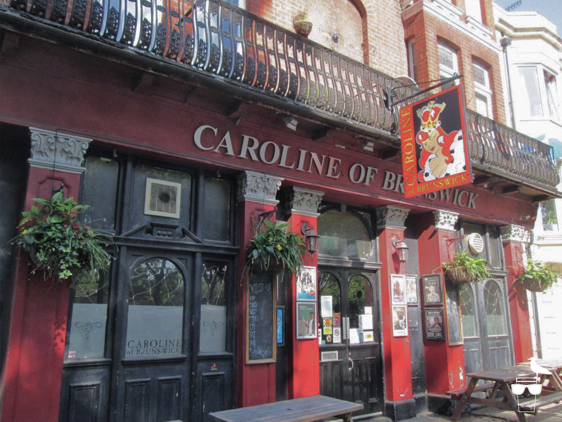 caroline of brunswick pub brighton outside front
