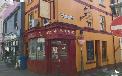 hand in hand pub kemptown brighton outside entrance from corner