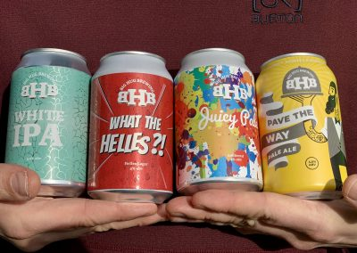 big hug brewing cas of beer