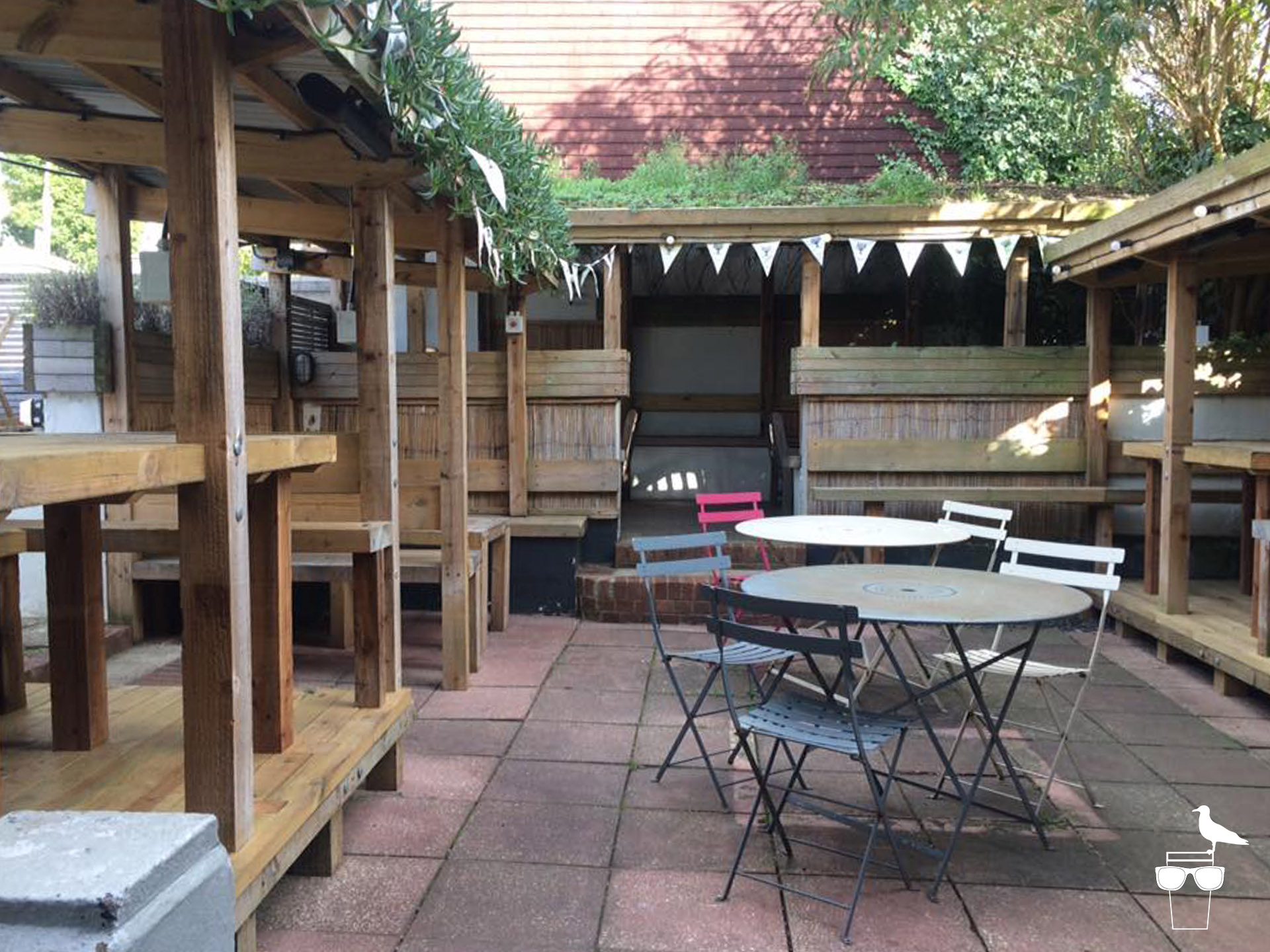 preston park tavern brighton patio garden