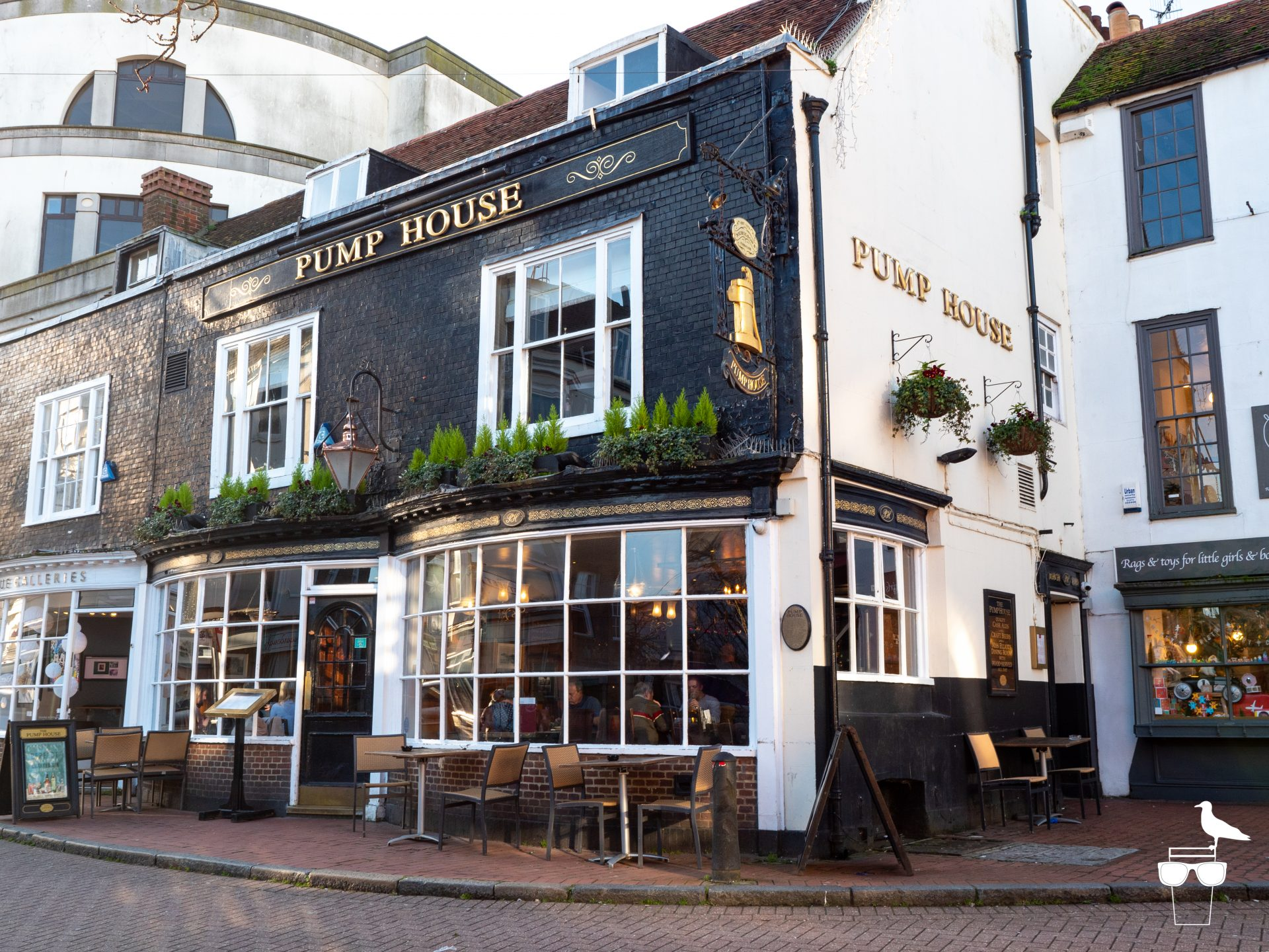 Pump House pub brighton, front, outside, alt angle