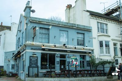 Shakespeare's Head pub brighton, outside, front