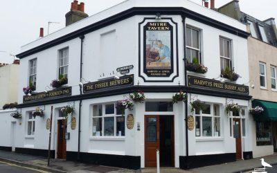 Mitre Tavern pub brighton outside facade corner