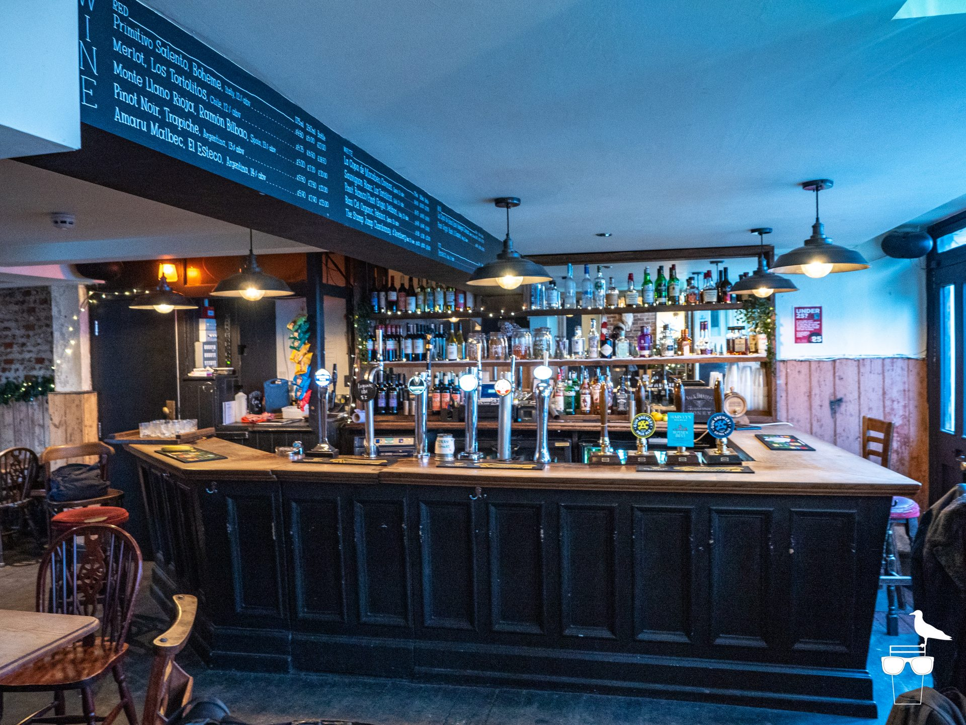 the foundry pub brighton inside bar area
