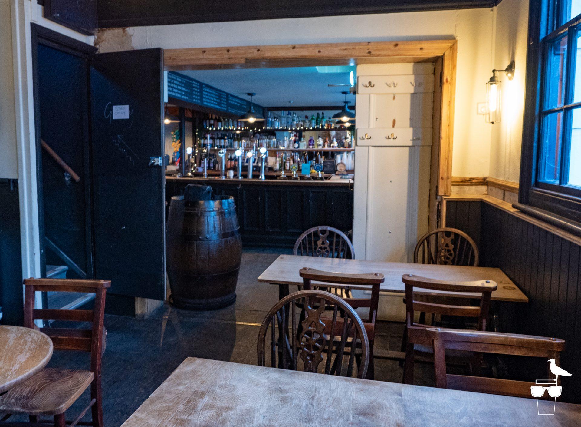 the foundry pub brighton inside view towards bar area