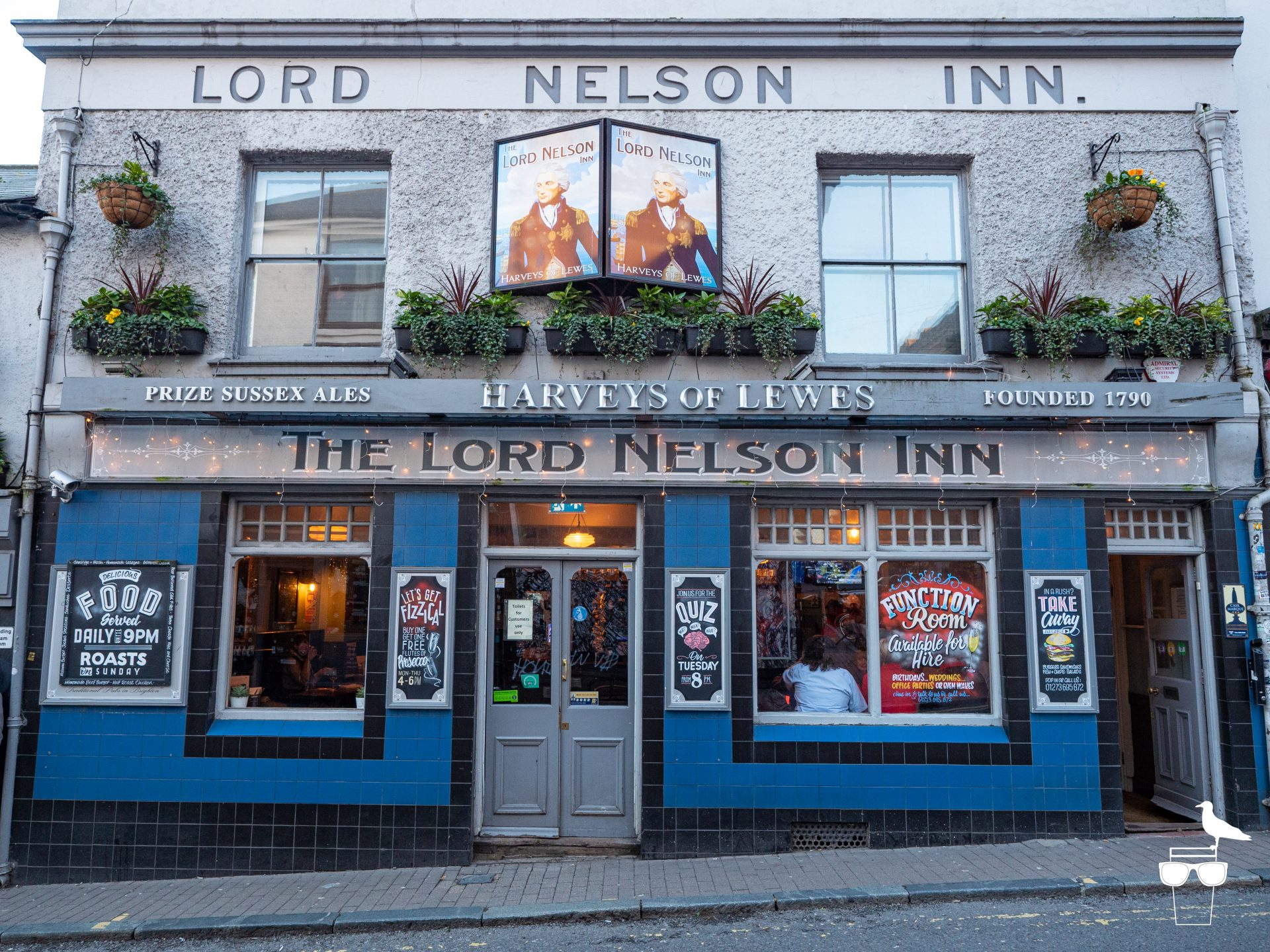 the lord nelson inn brighton outside front elevation from front