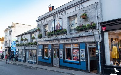 the lord nelson inn brighton outside view of front elevation