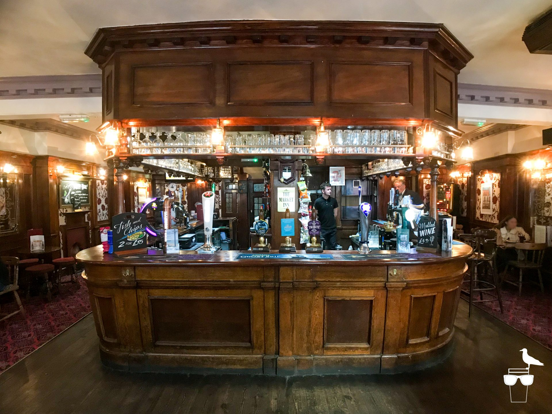the market inn brighton inside bar front on