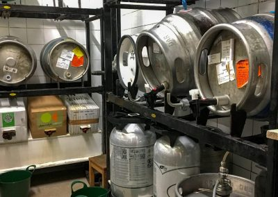 the watchmaker's arms hove cask storage area