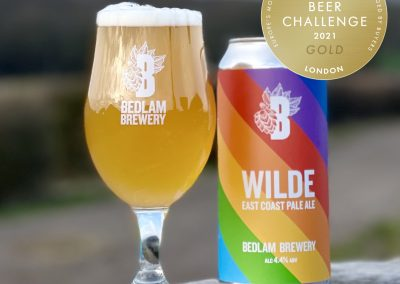 Bedlam Wilde European Gold Medal