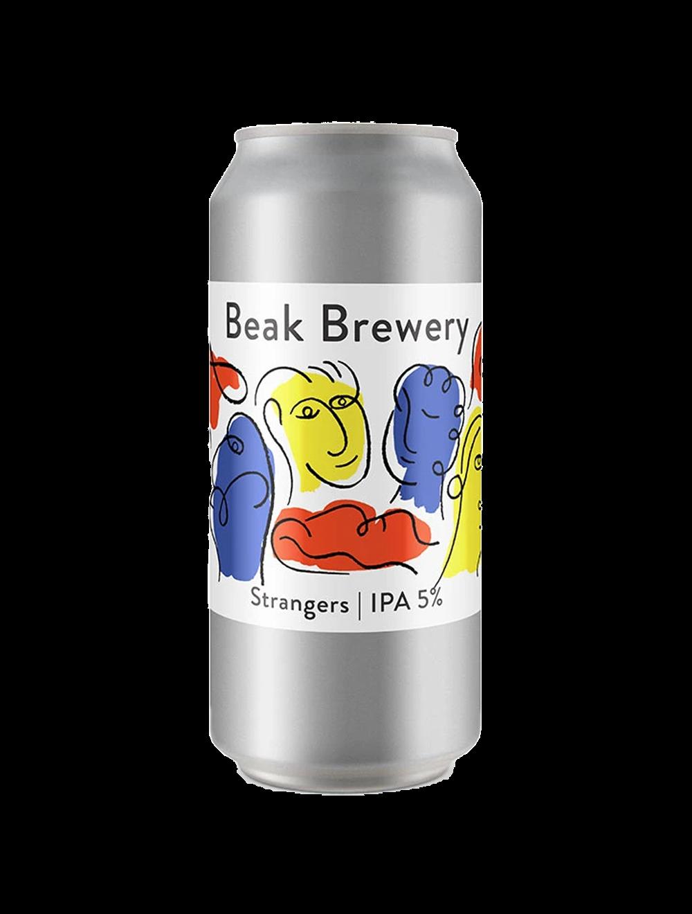 beak brewery strangers can