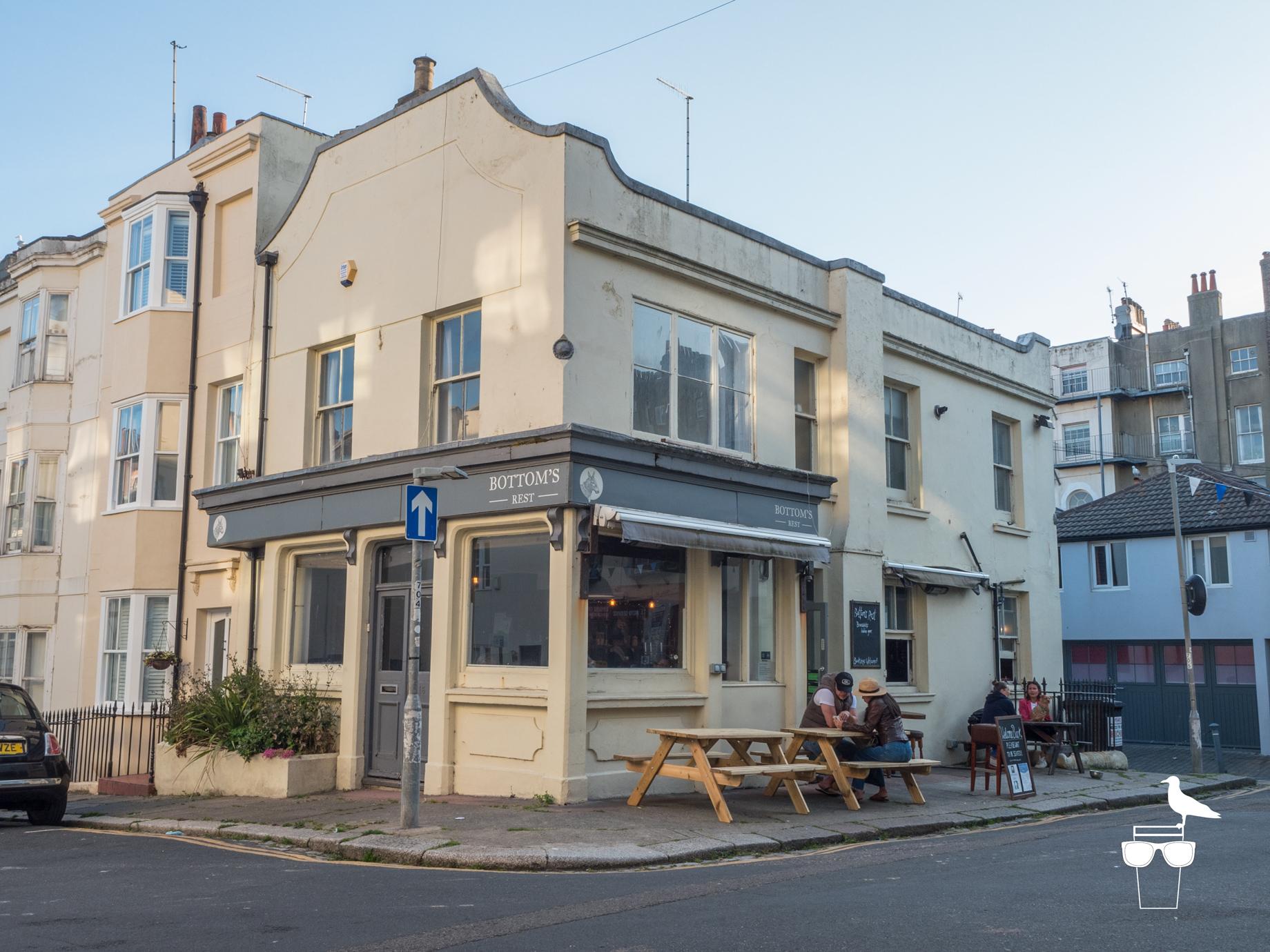 bottoms rest pub hove brighton outside