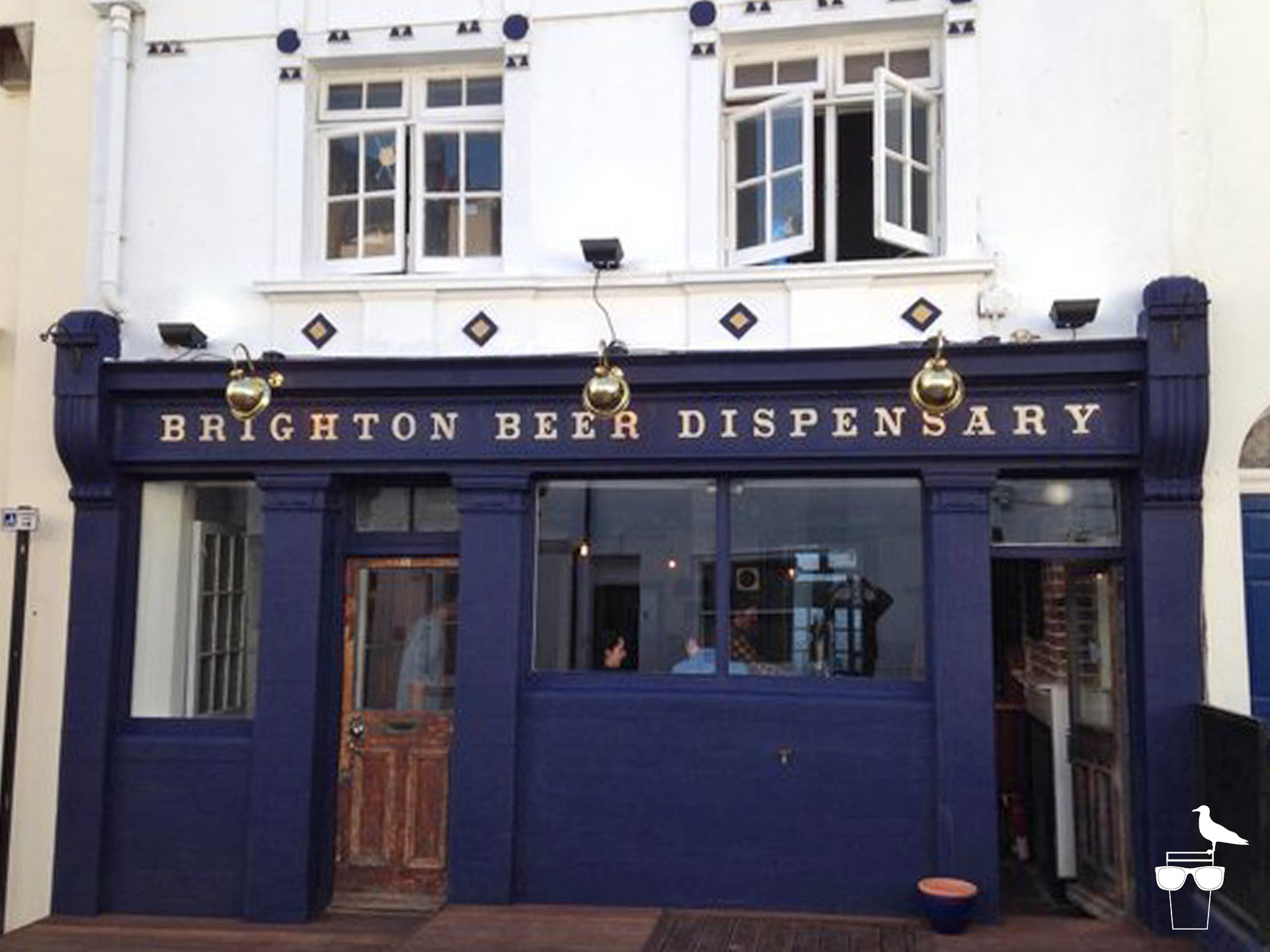 brighton beer dispensary outside front elevation