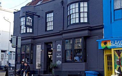brighton bierhaus pub bar outside