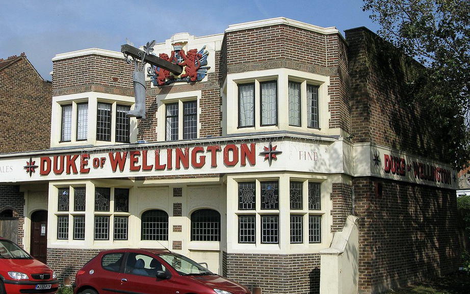 Duke of wellington pub shoreham outside front elevation