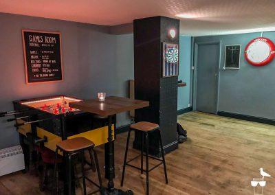 freehaus pub brighton foosball and darts board
