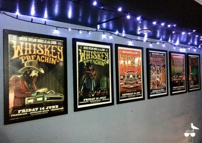 freehaus pub brighton whiskey preachin' posters