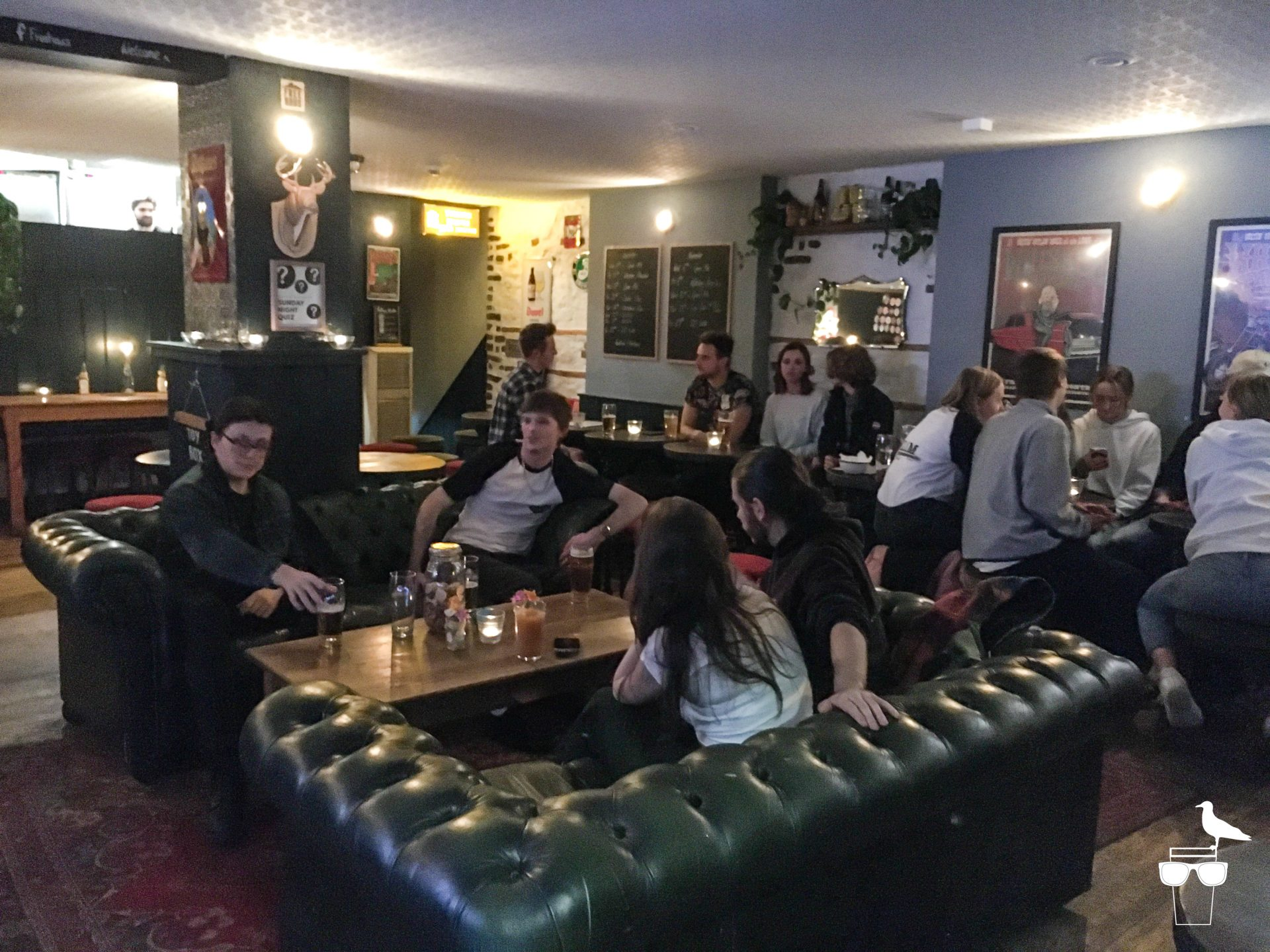 freehaus pub brighton seating customers on sofas