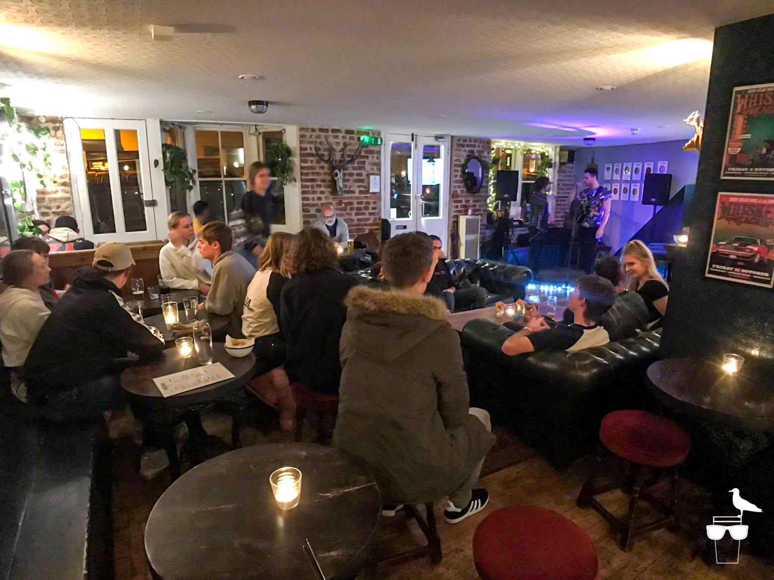 freehaus pub brighton inside busy sofas lots of customers