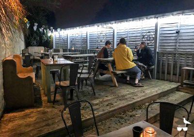 freehaus pub brighton outdoor garden decked area