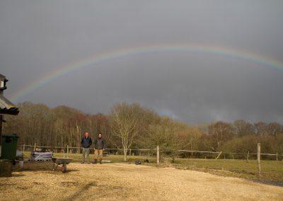 gun brewery farm rainbow toby and mark