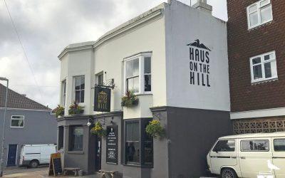 haus on the hill brighton pub hanover outside