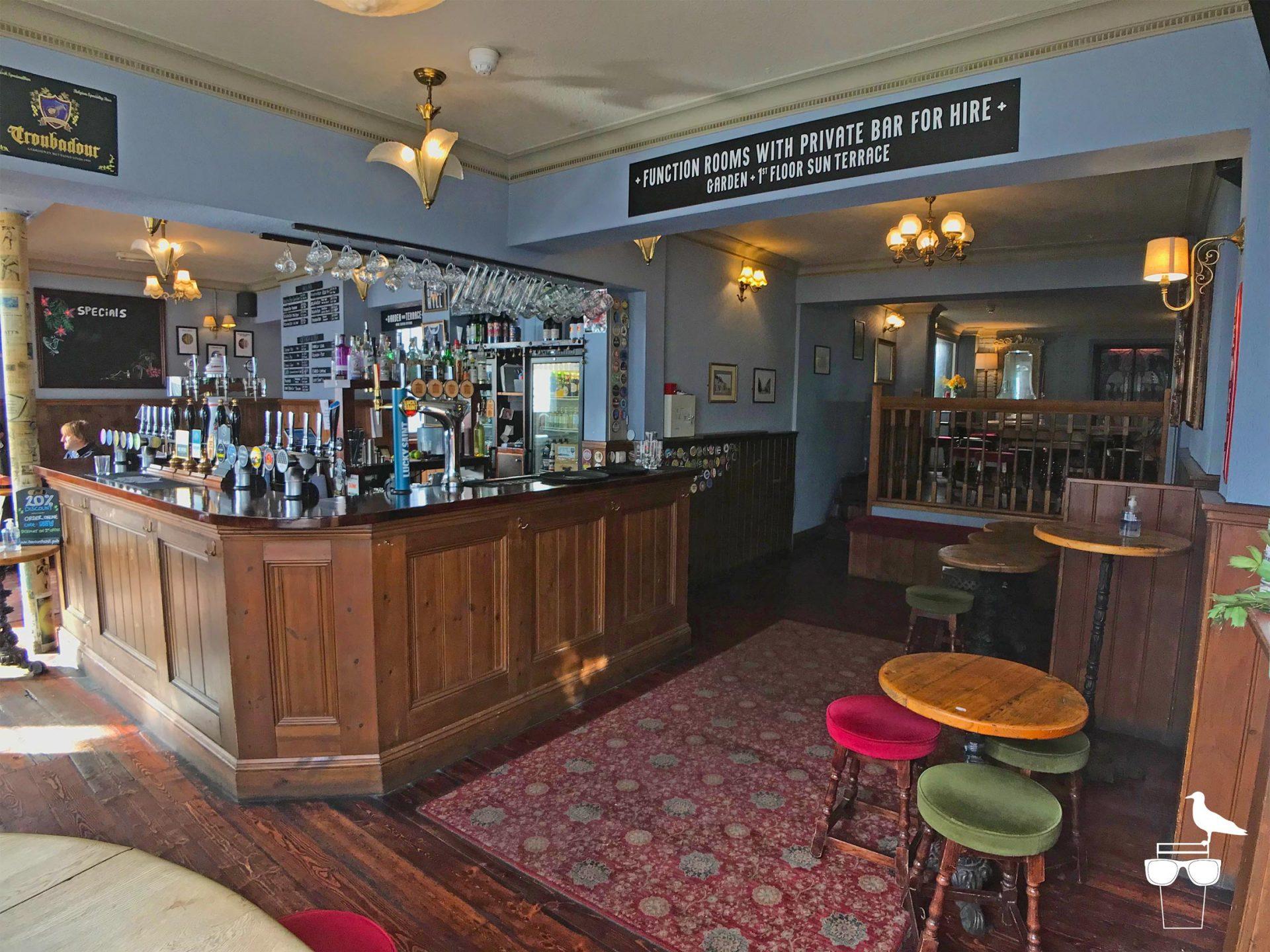 haus on the hill brighton pub hanover front bar