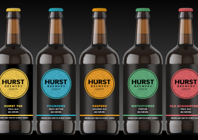 hurst brewery bottle range