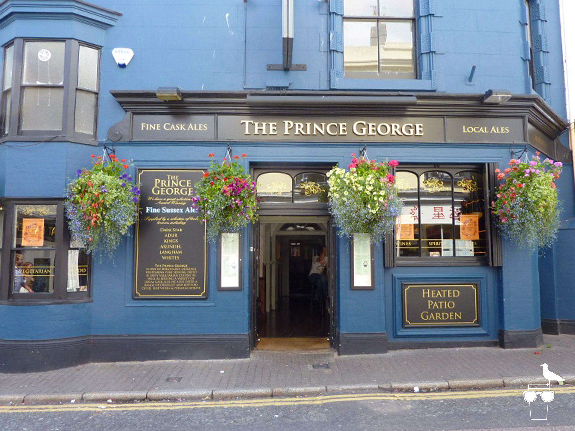 prince george brighton pub outside front