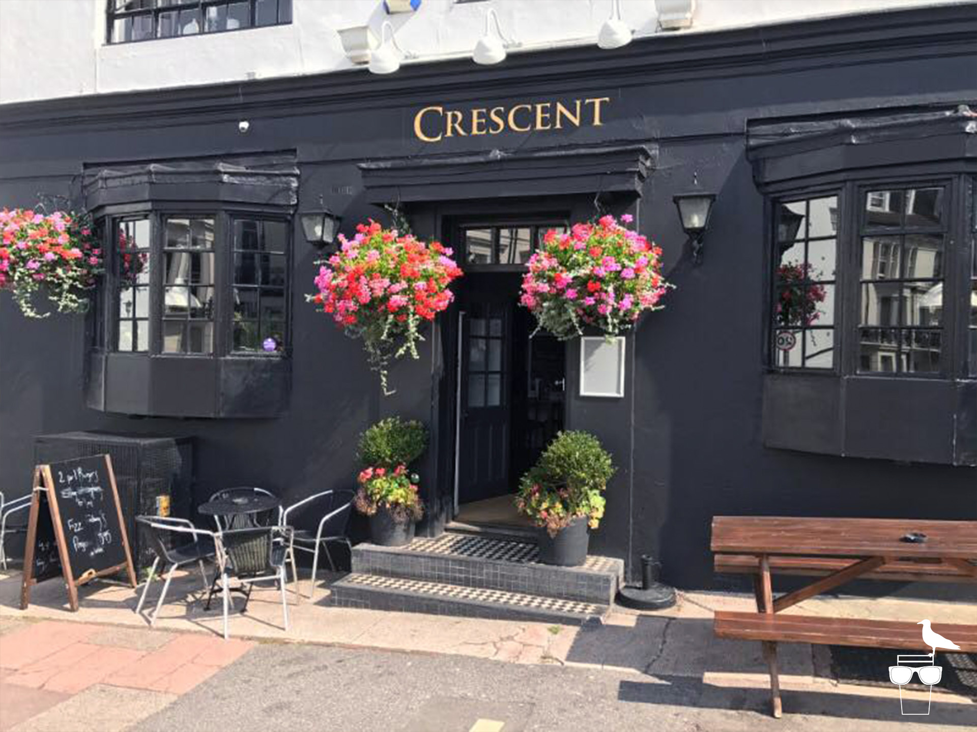 the crescent pub brighton outside entrance