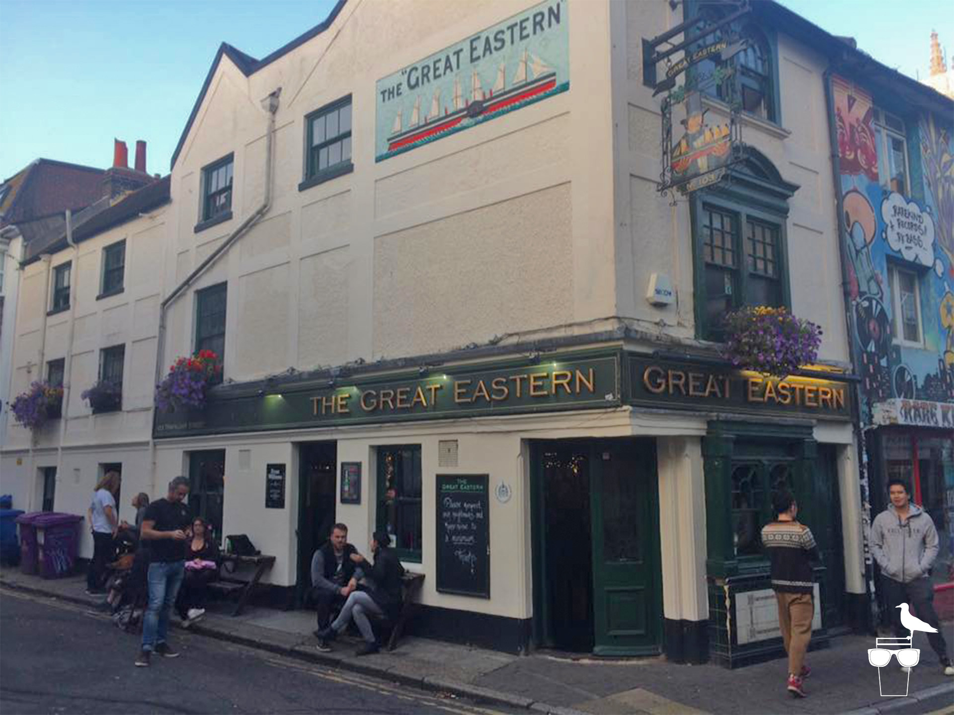 the great eastern brighton pub outside from the corner