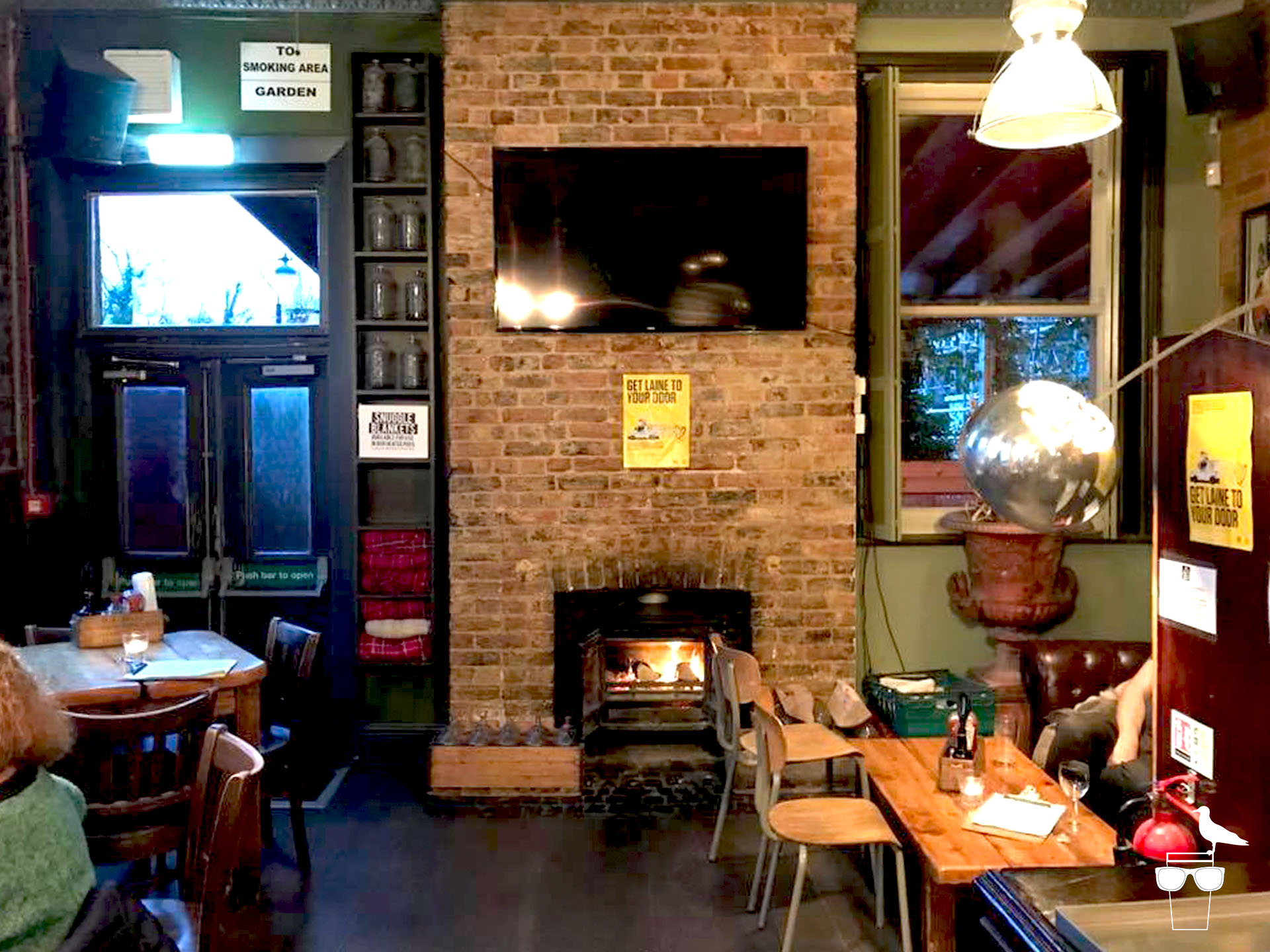open house pub london road brighton log fire