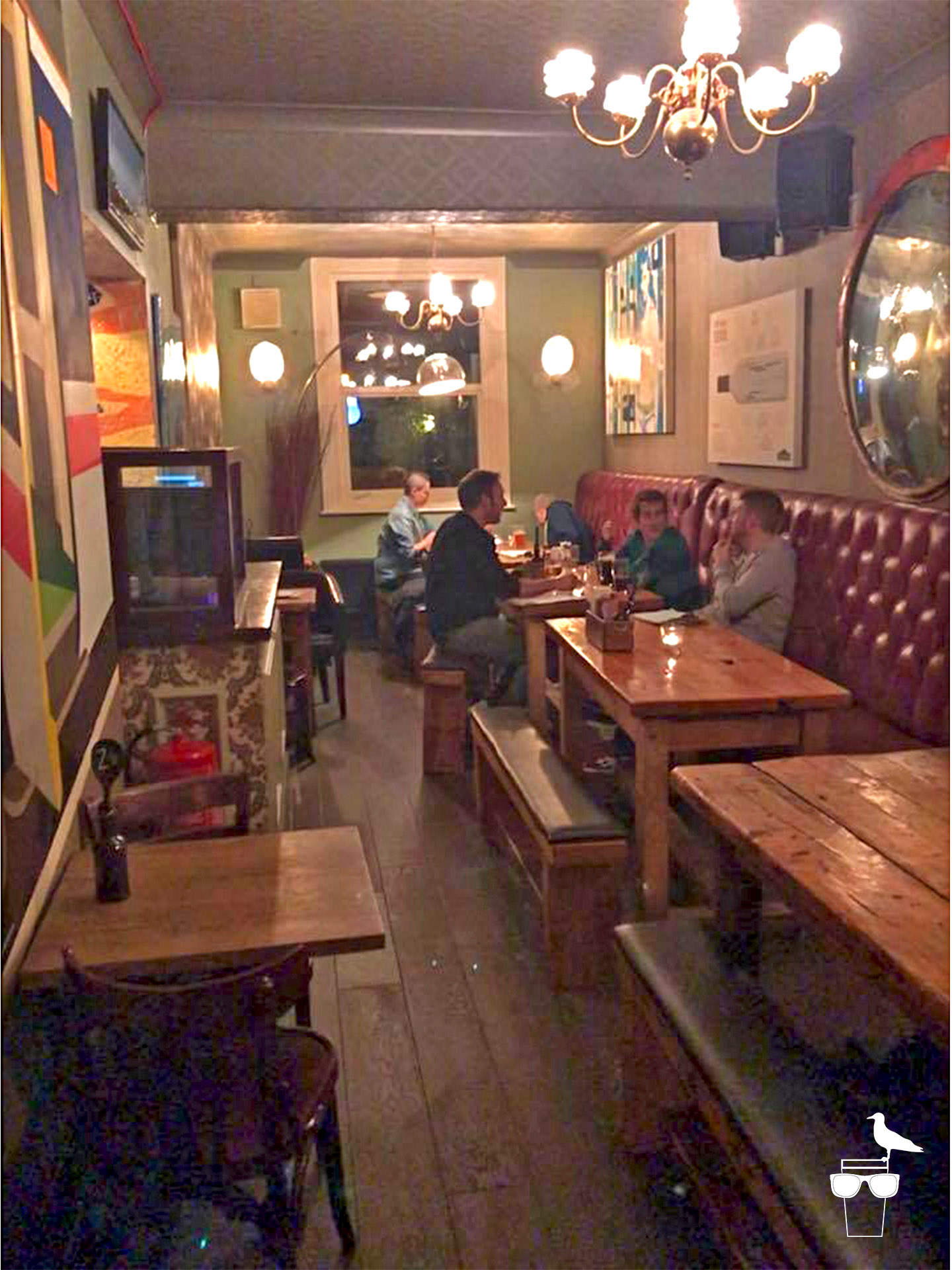 open house pub london road brighton inside seating