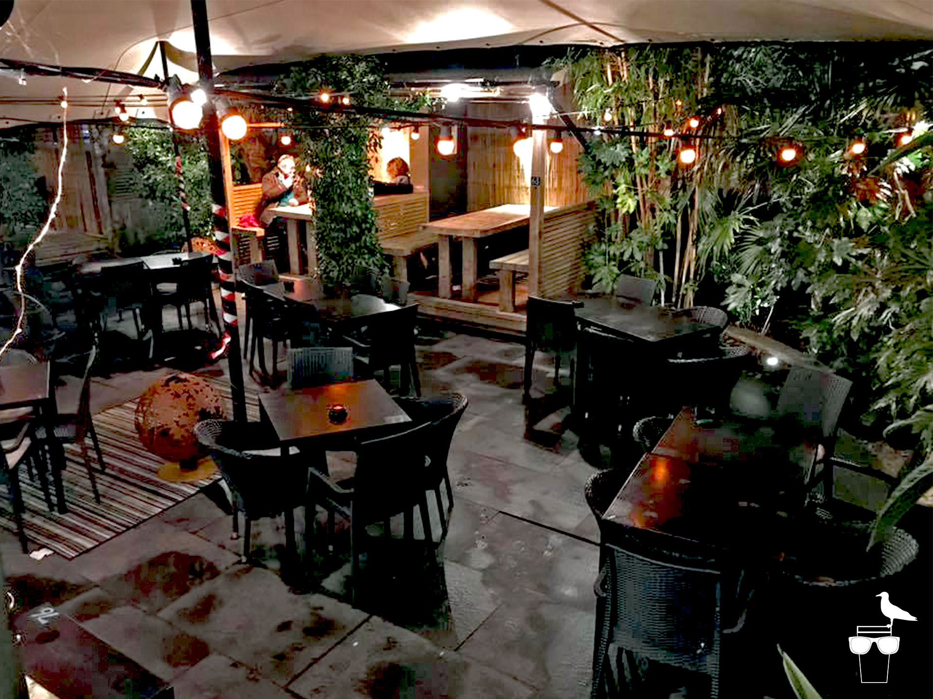 open house pub london road brighton garden seating and booths pods