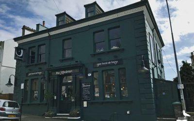The Signalman Brighton pub outside front elevation