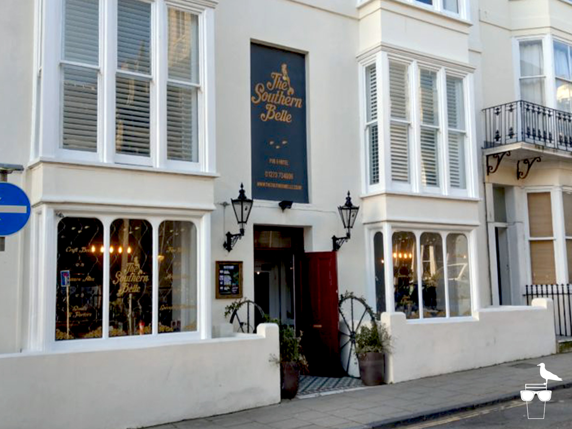the southern belle pub brighton hove outside front elevation