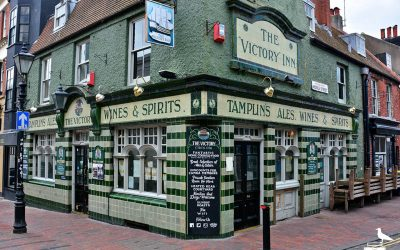 the victory brighton pub outside from corner